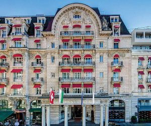 Short stay: Lausanne Palace, Lausanne, Switzerland