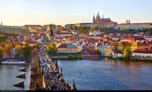 Delta / Air France / KLM Royal Dutch – $648 (Regular Economy) / $478 (Basic Economy): San Francisco – Prague, Czech Republic. Roundtrip, including all Taxes