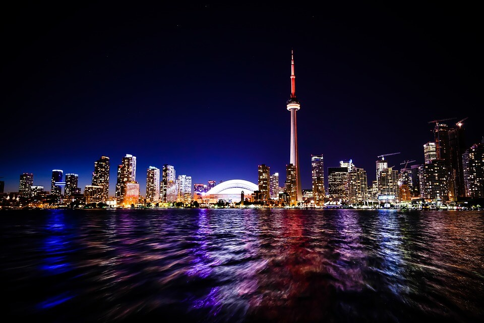 Seattle to Toronto, Canada for only $180 roundtrip