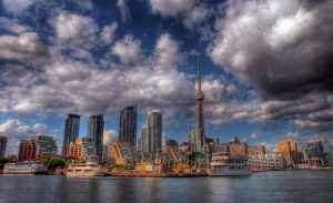 American: Phoenix – Toronto, Canada. $262. Roundtrip, including all Taxes