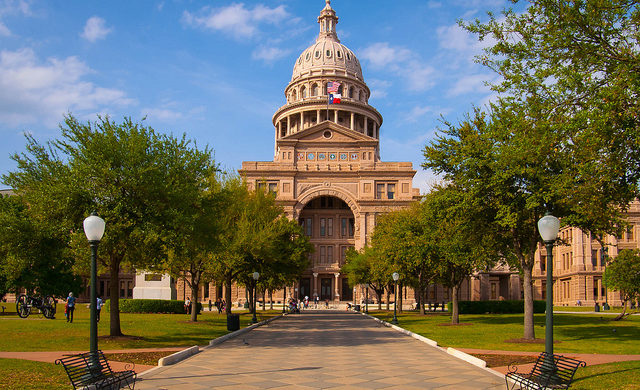 Southwest: Los Angeles – Austin, Texas (and vice versa). $106. Roundtrip, including all Taxes