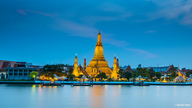 United / All Nippon Airways: San Francisco – Bangkok, Thailand. $520. Roundtrip, including all Taxes