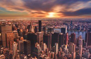 Group Touring NYC's Strangest Landmarks