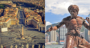 2 IN 1 TRIP: London, UK to Rome, Italy & Hong Kong for only £331 roundtrip