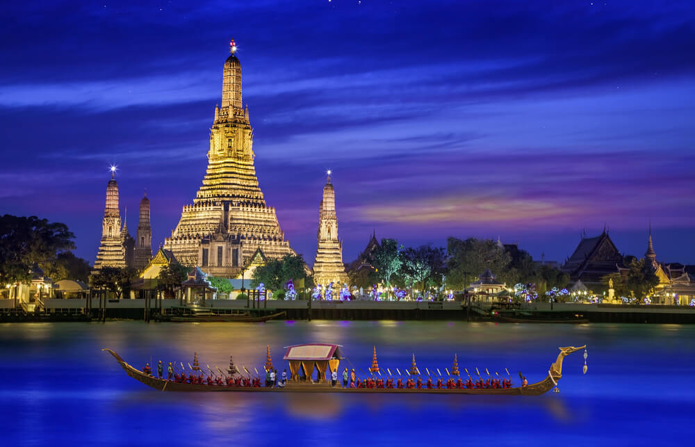 Charlotte, North Carolina to Bangkok, Thailand for only $540 roundtrip