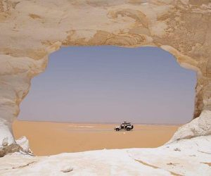 Explore the White Desert in Egypt