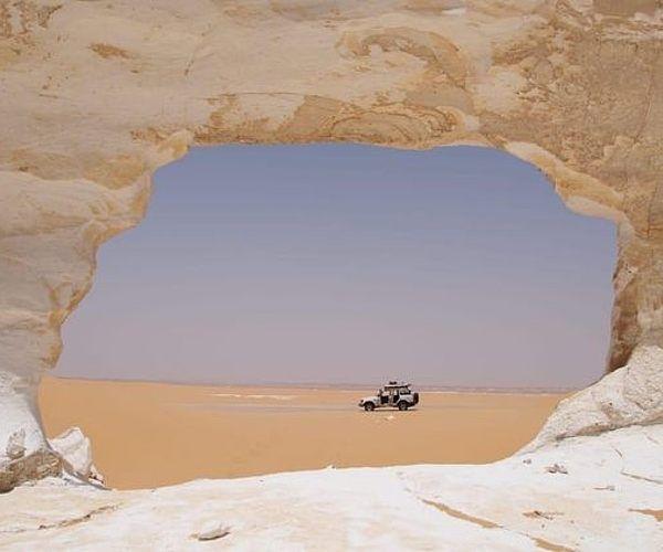 Explore the White Desert in Egypt